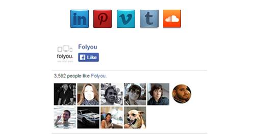 הרשתות החברתיות החדשות בממשק
